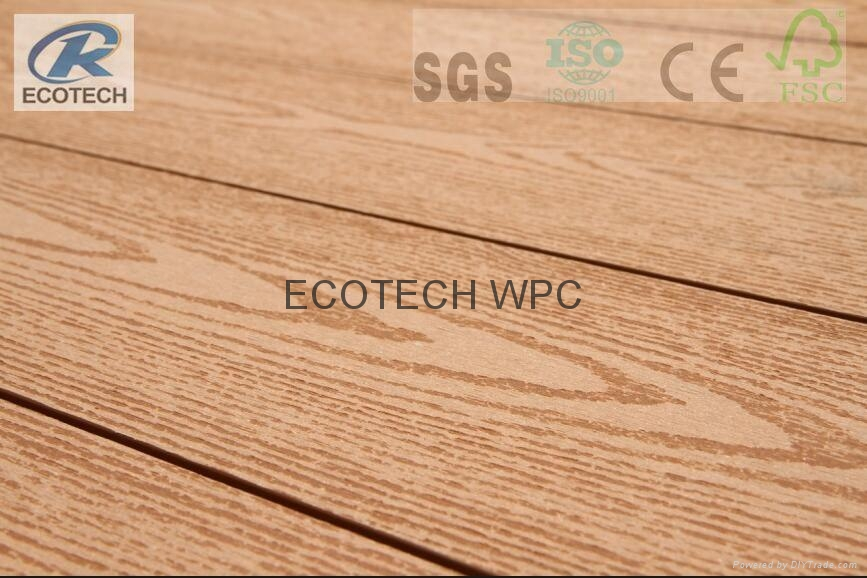 Wood Plastic composite (WPC) Decking& flooring 2