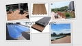 Wood Plastic composite (WPC) Decking& flooring(150X25mm) 2