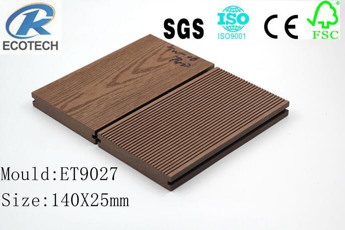 Wood Plastic composite (WPC) Decking& flooring(140X25mm) 1