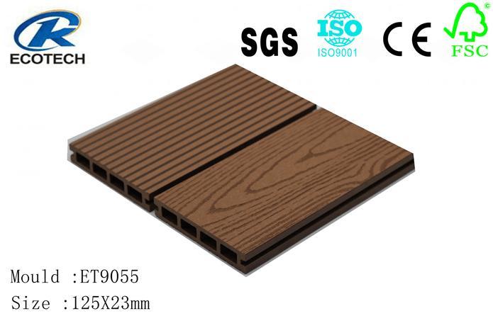 Wood Plastic composite (WPC) Decking& flooring(125X23mm) 1