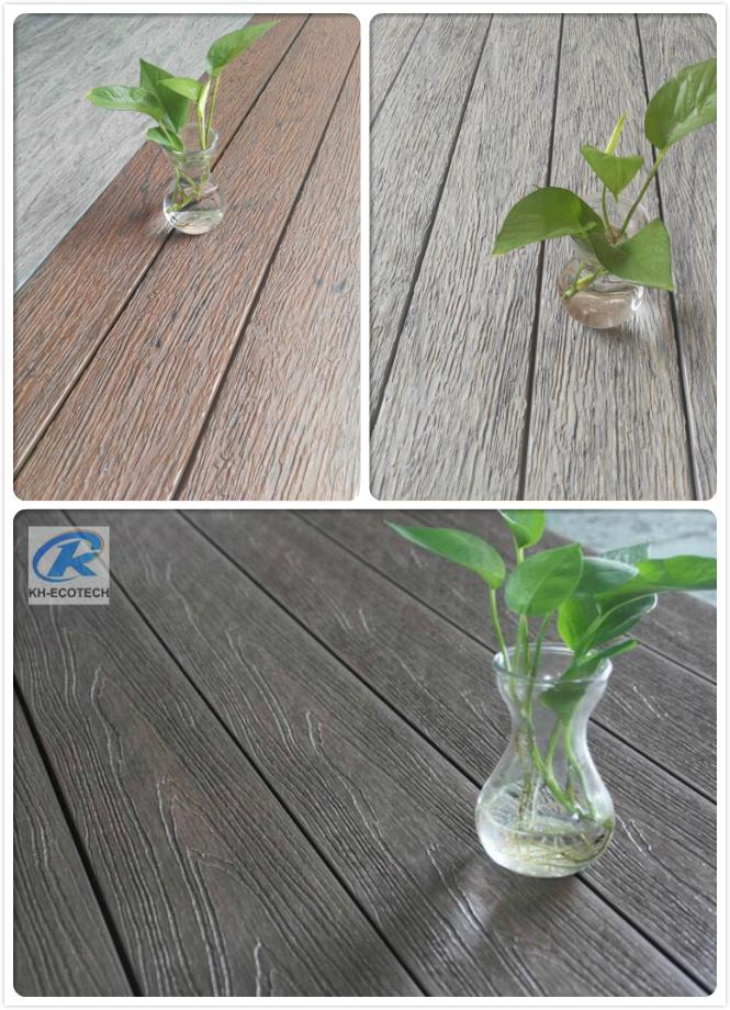 Fireproof Composite  WPC  Decking  ( CE ,FSC,SGS ,ISO) 2