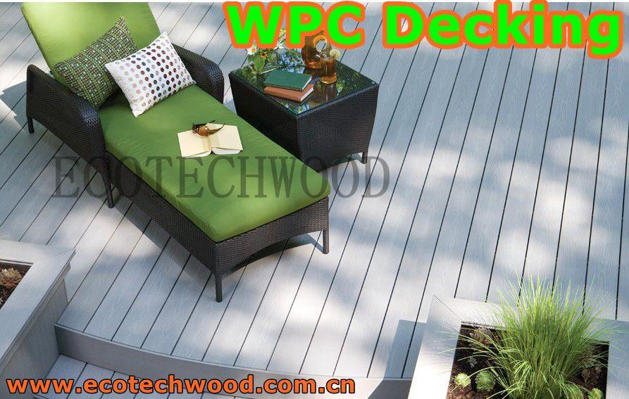 Wood Plastic composite (WPC) Decking& flooring 3