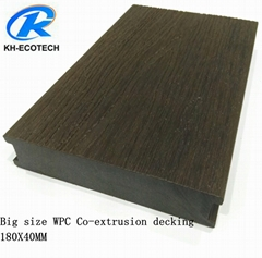 Top quality Co-extrusion WPC decking