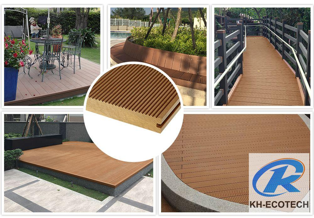 Waterproof and non-cracked wpc decking 1