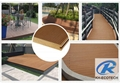 Waterproof and non-cracked wpc decking