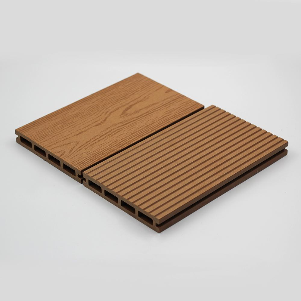 Waterproof and non-cracked wpc outdoor and indoor decking 2