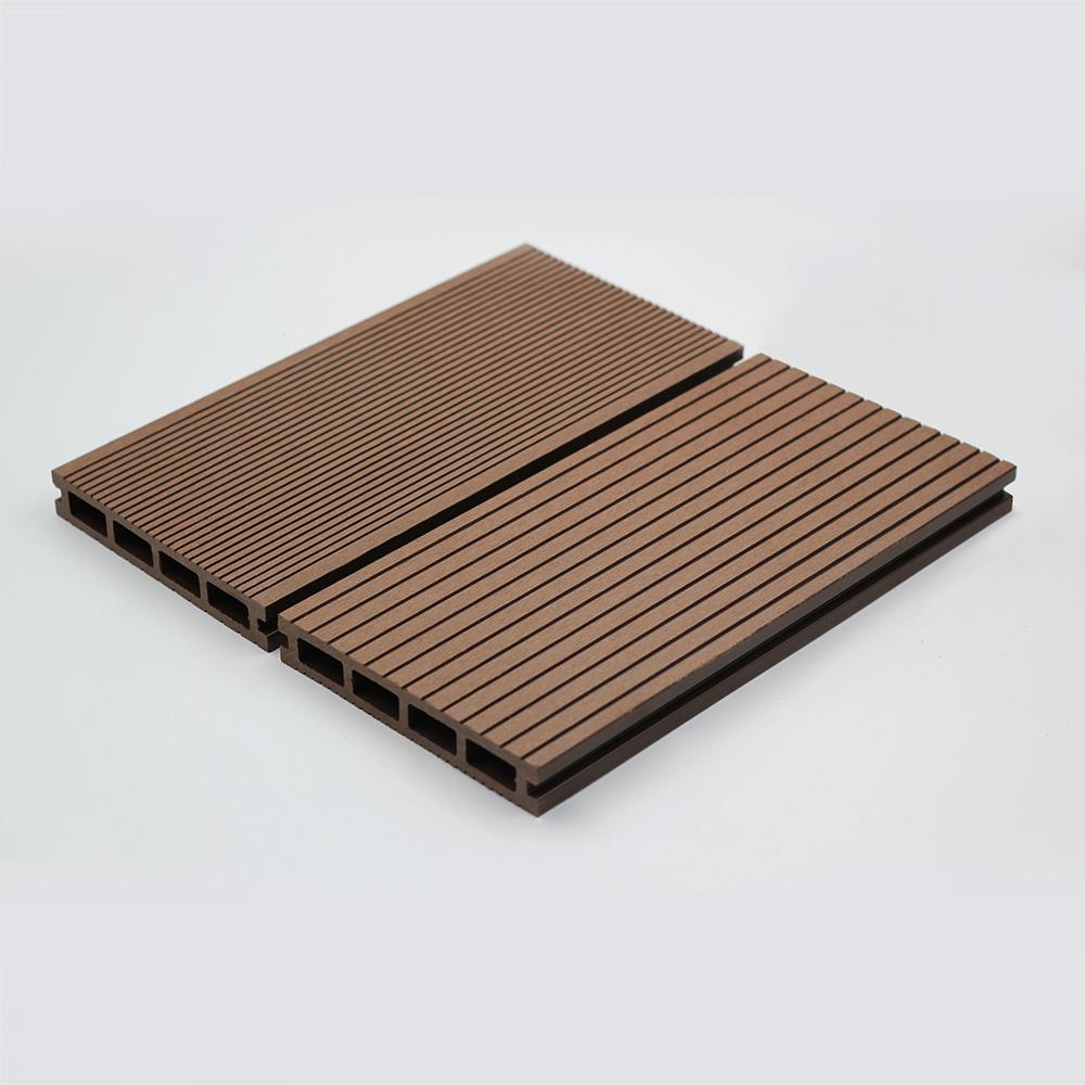 Top quality Co-extrusion WPC Decking for outdoor 1
