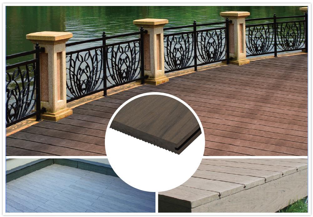 Hot sales solid WPC flooring waterproof ,UV Resistance  1