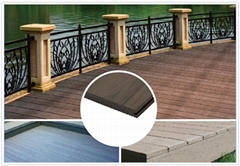 Hot sales solid WPC flooring waterproof ,UV Resistance