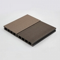 High strength & low expansion WPC decking with FSC ,ISO ,CE Certification