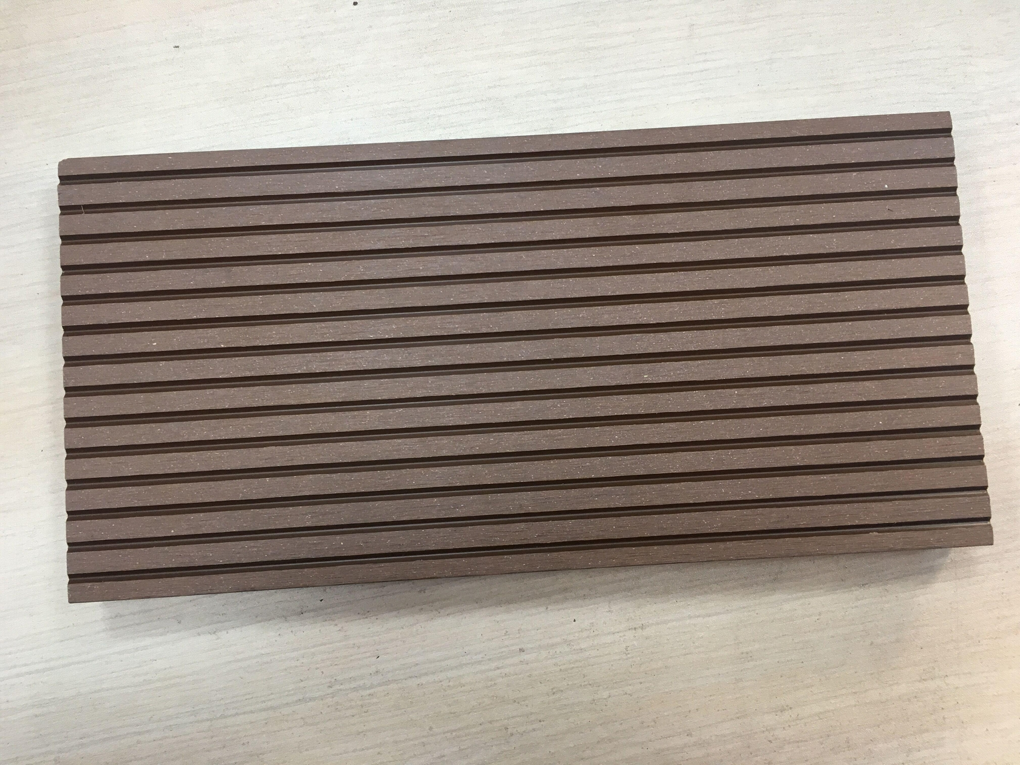 Patented, surface sanded wpc decking for outdoor 4