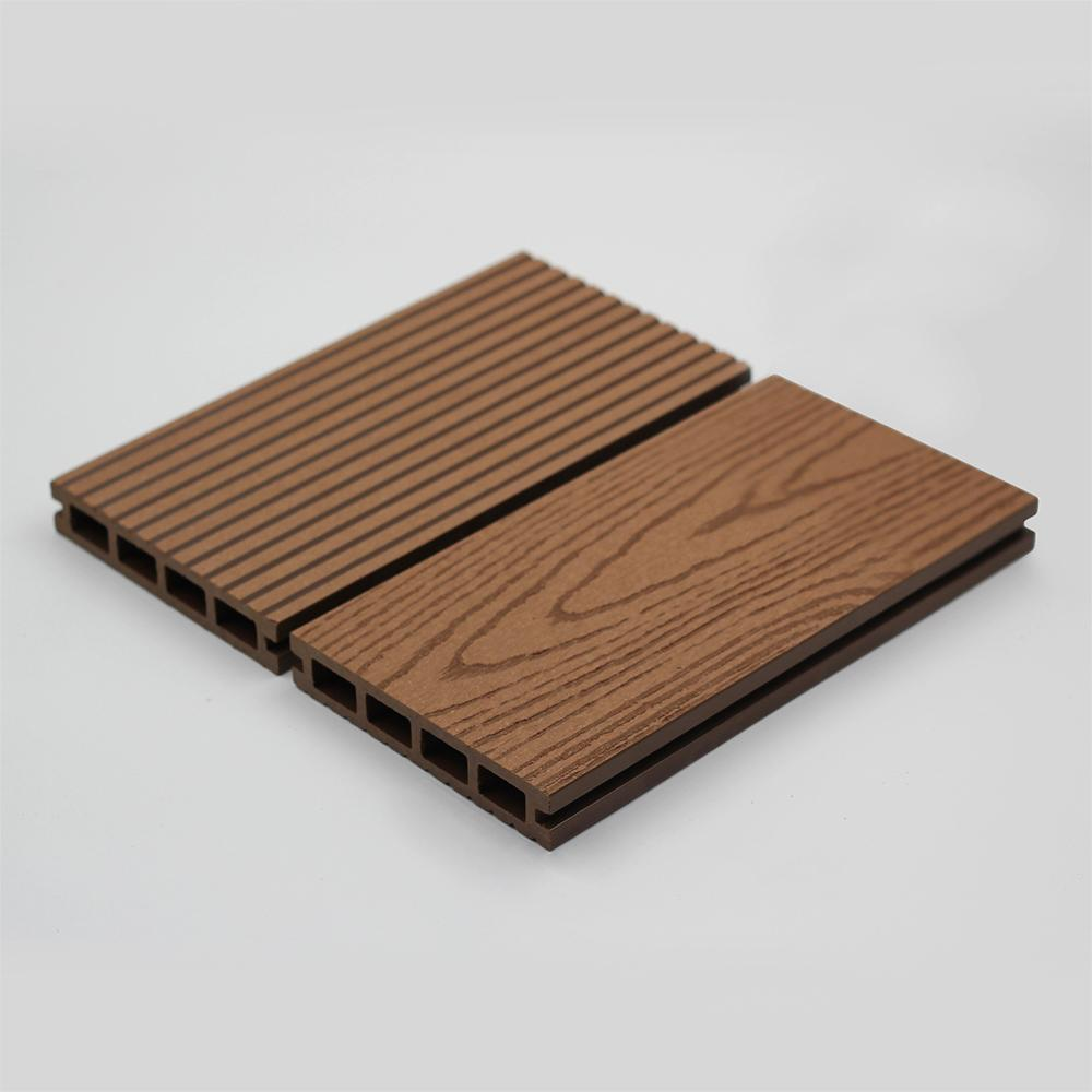 Patented, surface sanded wpc decking for outdoor 3