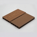 Patented, surface sanded wpc decking for