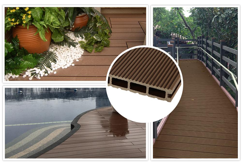 Top quality  WPC Deck for outdoor swimming pool warranty 20 years 1