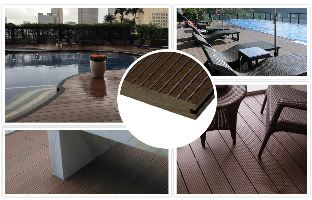 cheap and high quality WPC decking 1