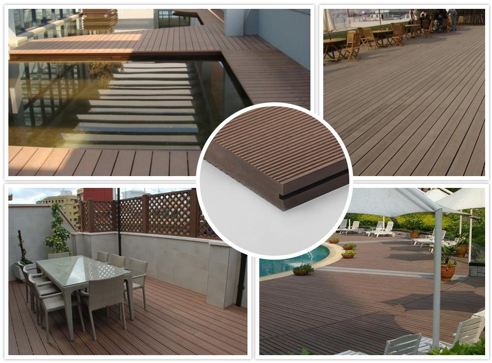 Wood Polymer Composite decking  1