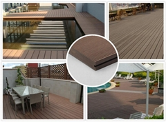 Wood Polymer Composite decking
