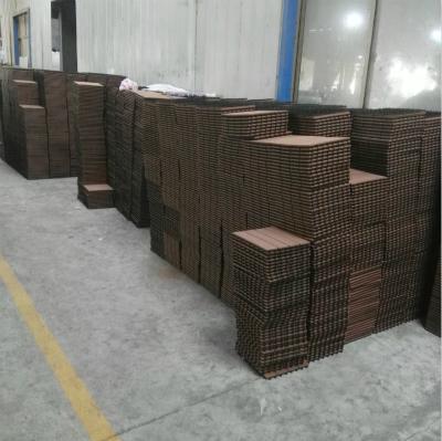 WPC Decking Fake/Artificial Grass Decking Tile 6