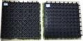 WPC Decking Fake/Artificial Grass Decking Tile 4