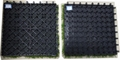 WPC Decking Fake/Artificial Grass Decking Tile 3