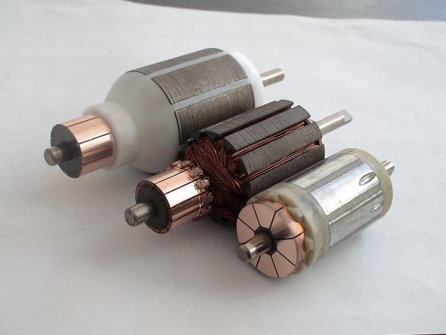 汽车然油泵电机芯