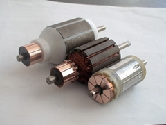 Automobile however oil pump electrical machinery core