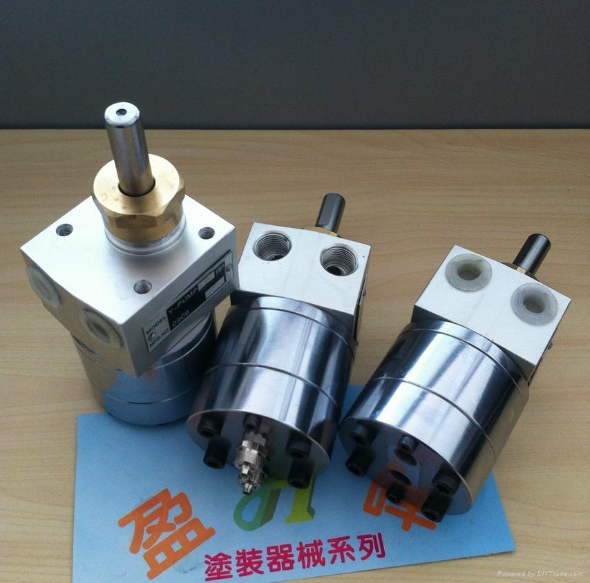 带清洗齿轮泵 PE木器漆齿轮泵 1