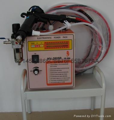 海馬靜電噴漆槍 盈暉HV2505靜電噴漆槍 3