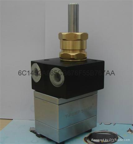 油漆齿轮泵3cc齿轮泵 盈晖YH水性油漆泵 2
