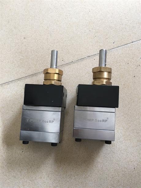 耐磨齿轮泵 5cc氟碳漆齿轮泵 1