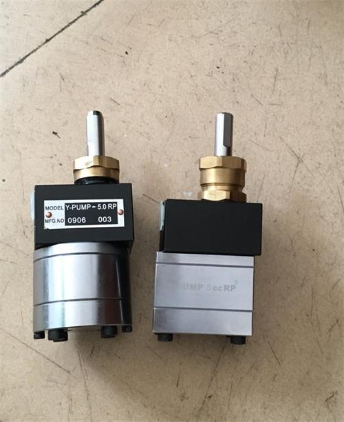 耐磨齿轮泵 5cc氟碳漆齿轮泵 2