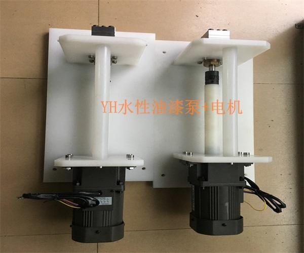 浙江水性漆齿轮泵  油漆齿轮泵浦 盈晖齿轮泵定做源头厂家 4