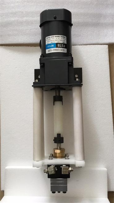 清洗齿轮泵 PE木器漆齿轮泵 5ccUV油漆泵 4