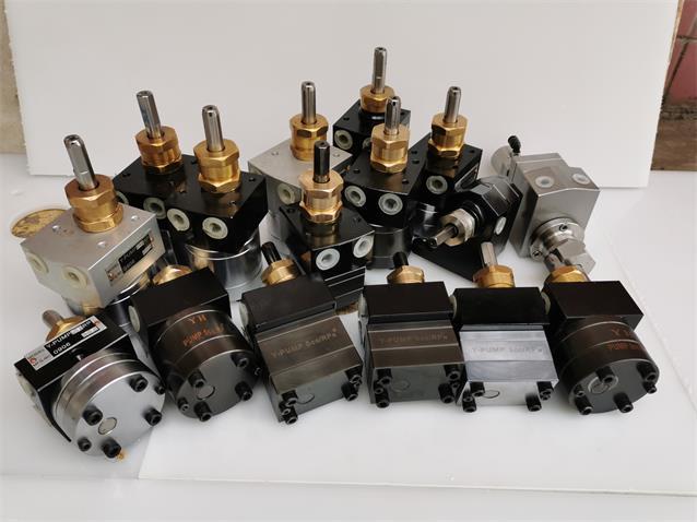 8cc油漆齿轮泵盈晖Y-PUMP8cc齿轮泵 2