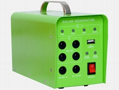 10W Solar Home Lighting System