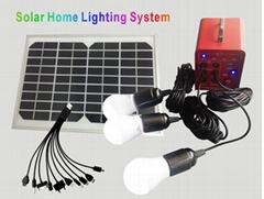8W Solar lighting system