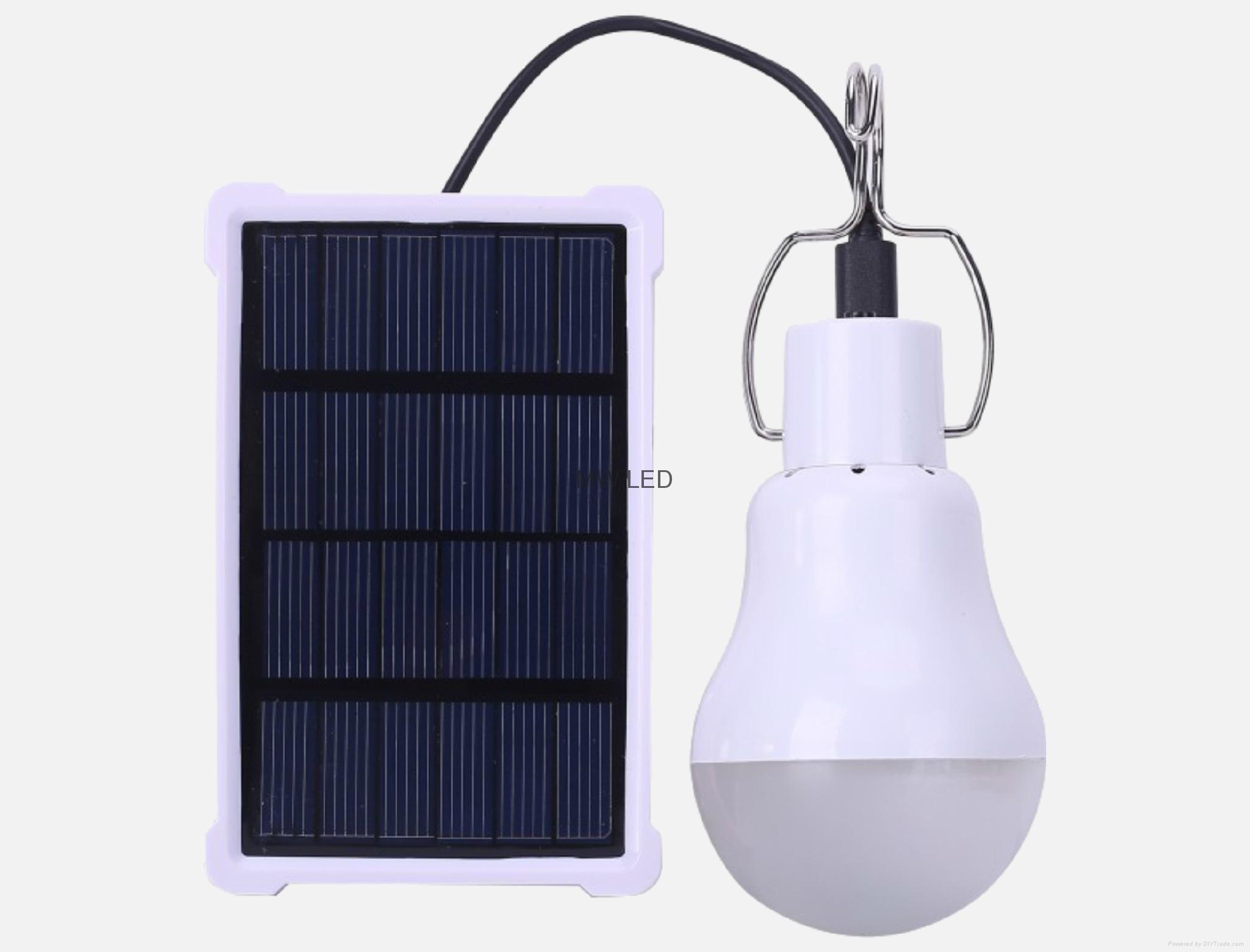 太陽能應急照明燈 1