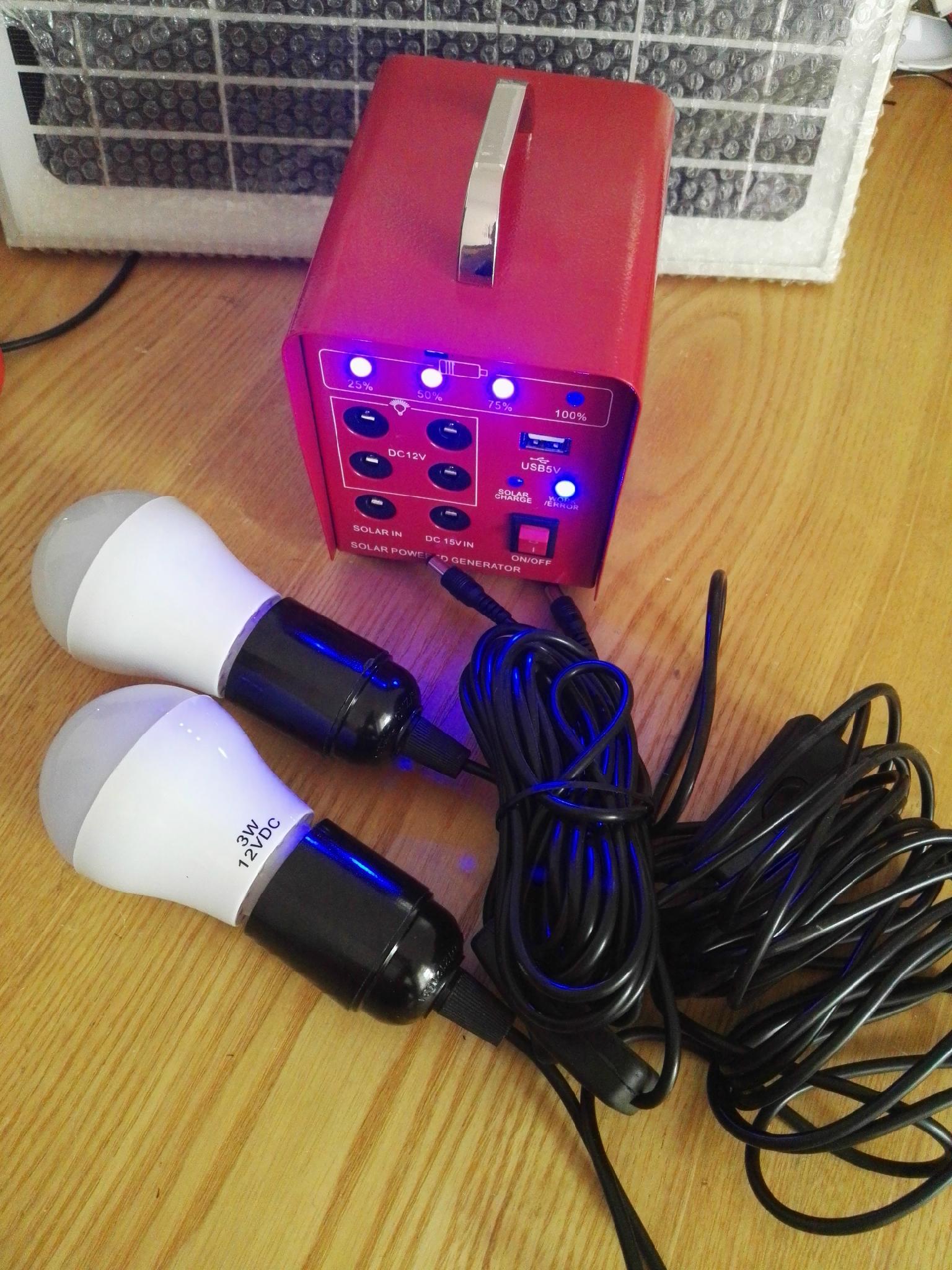 家用太阳能照明系统 17