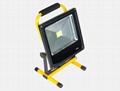 超薄充電式投光燈 2