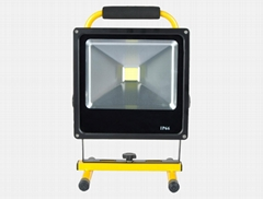 slim rechargeable flood light