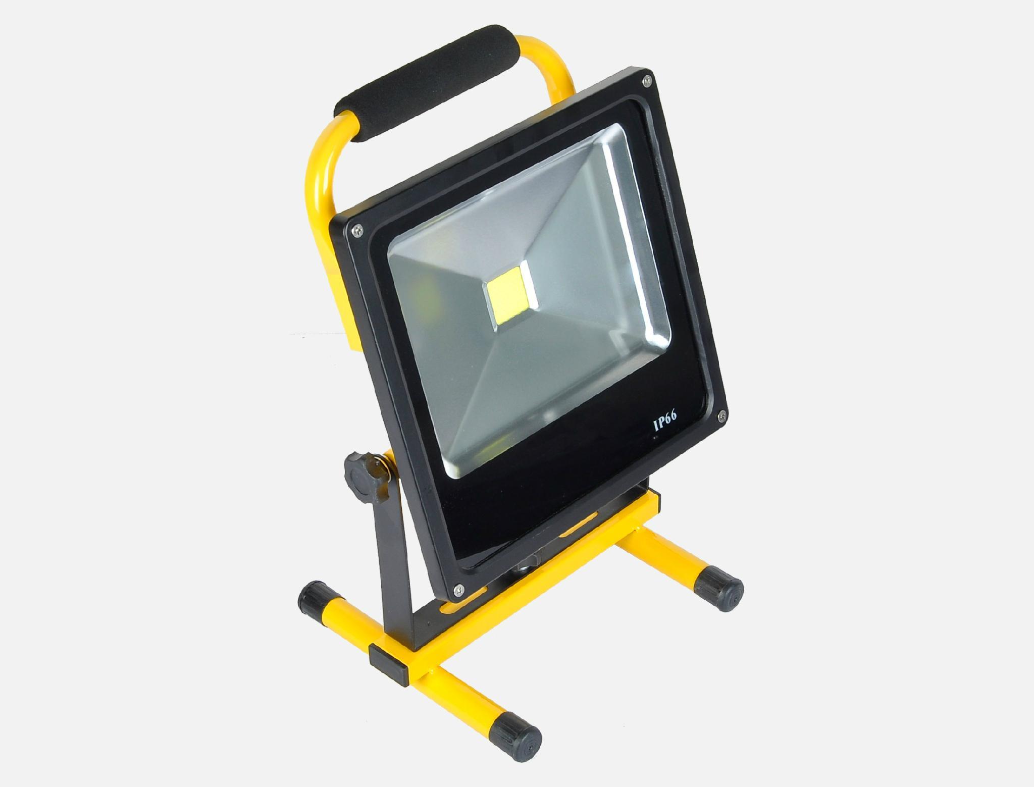 slim rechargeable flood light 2