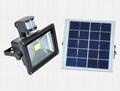 10W LED COB Solar Flood light with PIR sensor
