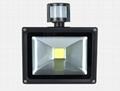 30W LED COB solar flood light with PIR sensor 2