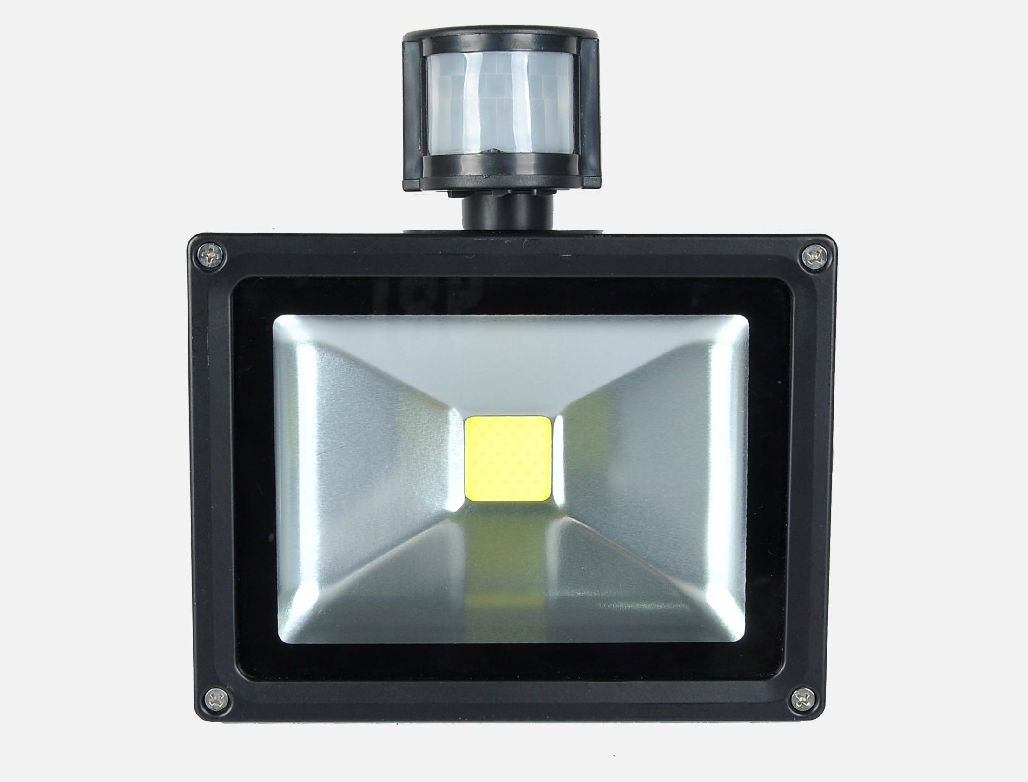 50W COB LED Solar flood light with PIR sensor 2