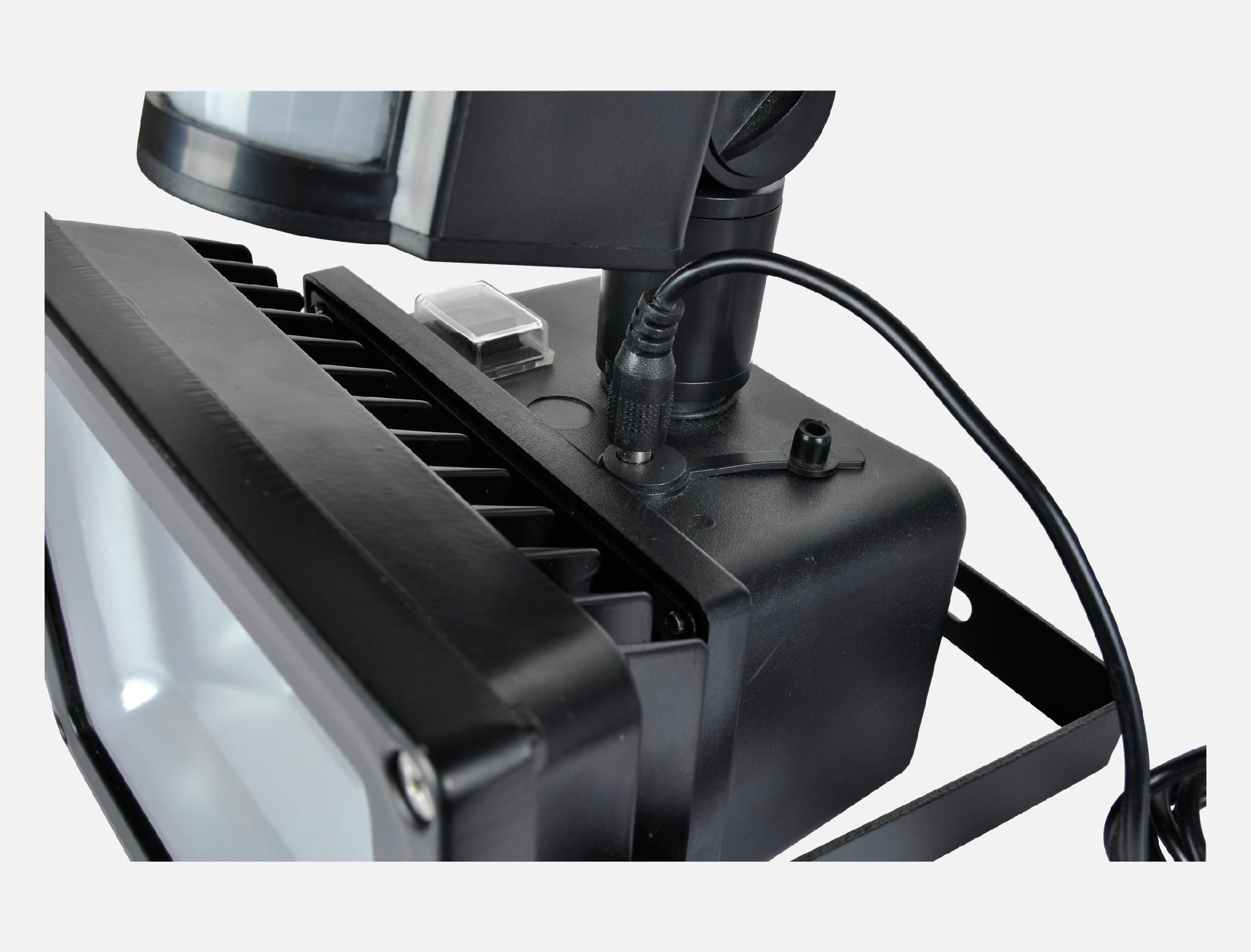 50W COB LED Solar flood light with PIR sensor 4