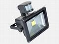 30W LED Solar flood light with PIR sensor 2