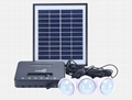 8W Solar Home Lighting Kit - 4 bulbs 1