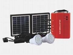 1.7W Solar Lighting Kit - 2 bulbs