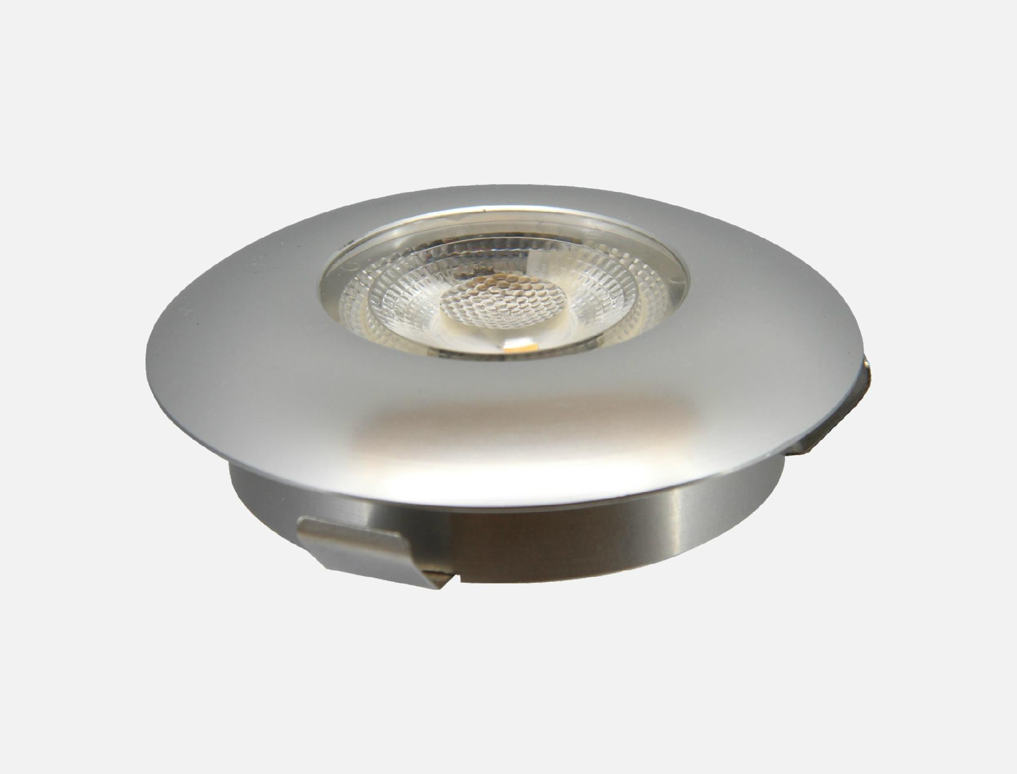 2017 New design hot sale kitchen cabinet LED light waterproof round aluminium ca