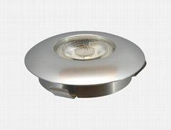 alpha lighting 3w nimi fixed cob led under cabinet lighting